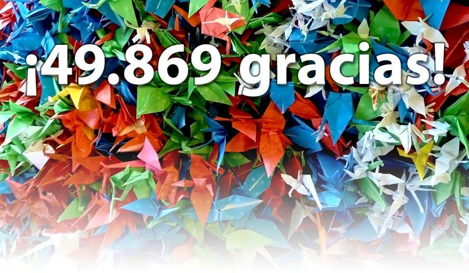 ¡49.869 gracias!